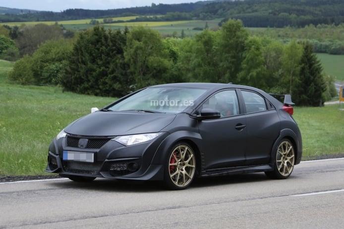 Nuevo Honda Civic Type R, su versión de producción al desnudo