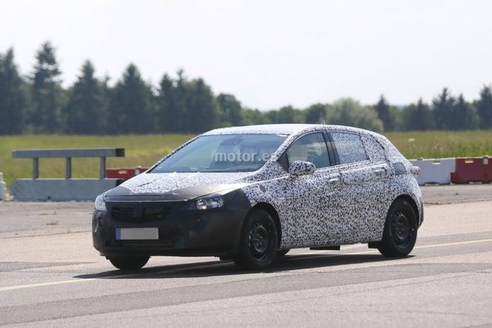 Opel Astra 2015, nuevas fotos espía del cinco puertas