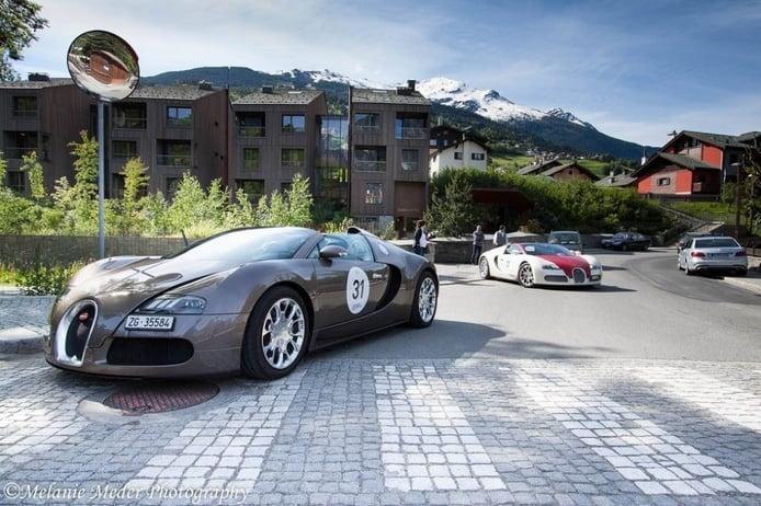 Fotos del Bugatti Grand Tour 2014 a su paso por Italia