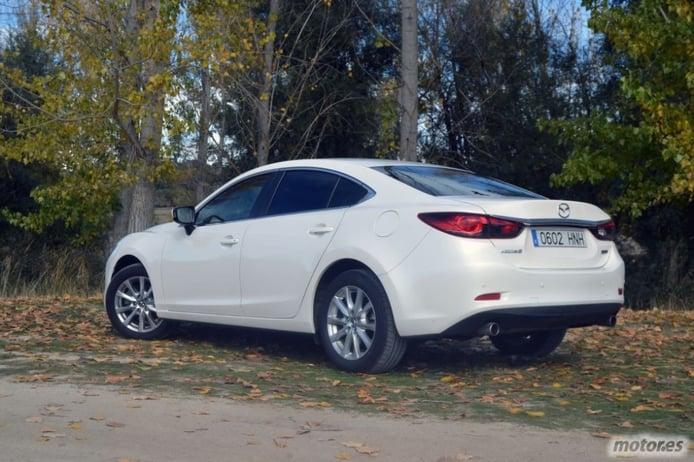 Mazda6 Skyactiv-G 2.0i 145 CV Style (I): Diseño exterior