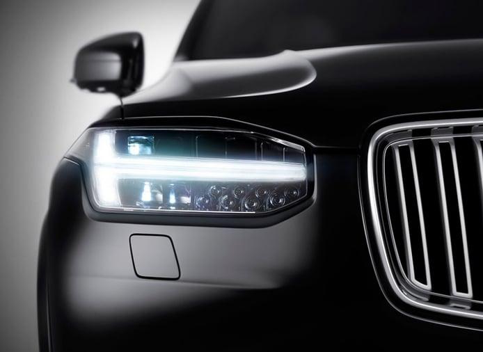 El Volvo XC90 2015 sigue su destape con nuevas imágenes
