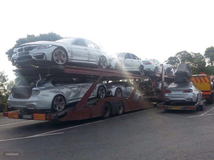 Misión Imposible 5: destrozar una flota de BMW M3 (F80)