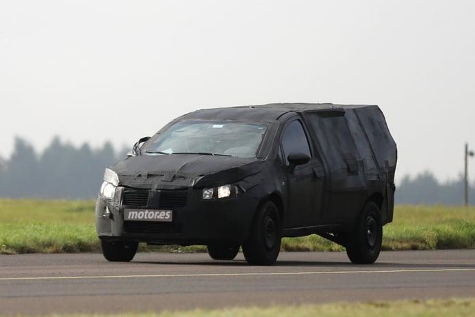 Fotos espía de la nueva pick-up de Fiat