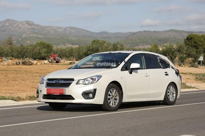 Subaru prueba nuevos motores para el próximo Impreza