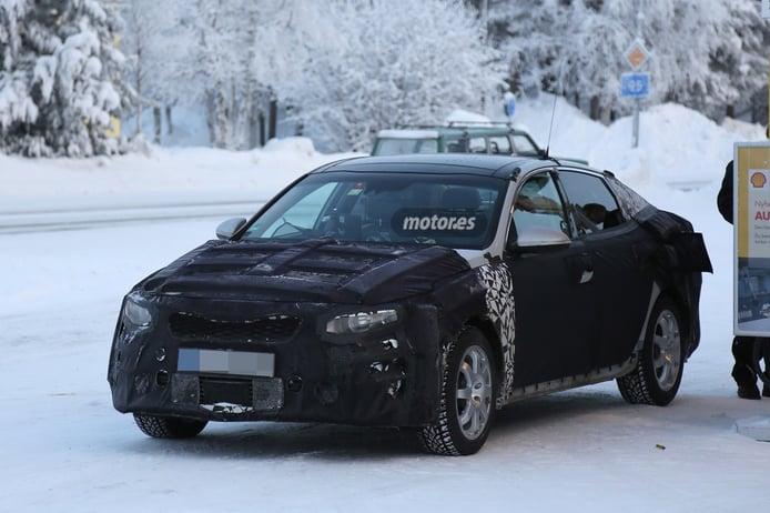 Kia Optima 2016, pruebas de invierno en Escandinavia