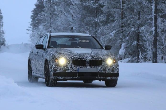 Nuevo BMW Serie 5 G30, el híbrido enchufable eDrive continúa sus pruebas