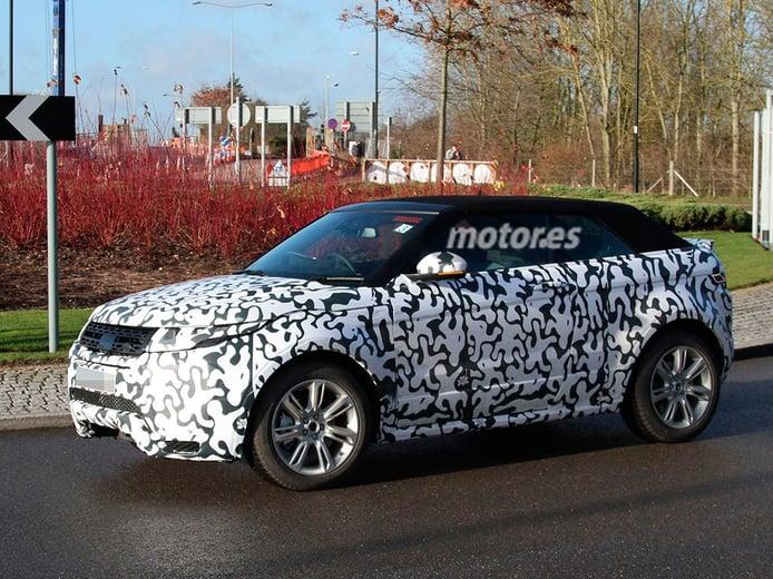 Range Rover Evoque Cabrio 2016, descubierto por primera vez