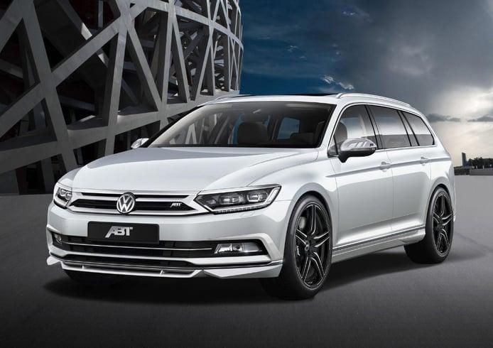 ABT Volkswagen Passat 2015, tuning para decir adiós a la seriedad