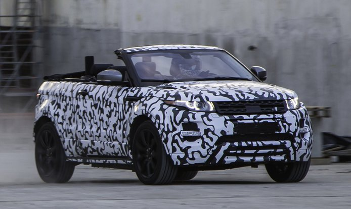 El Range Rover Evoque Convertible en vídeo oficial