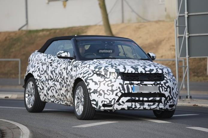 Range Rover Evoque Convertible, al descapotable también le gusta Nürburgring