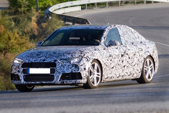 Audi S4 2016, una vez más pillado durante una sesión de pruebas