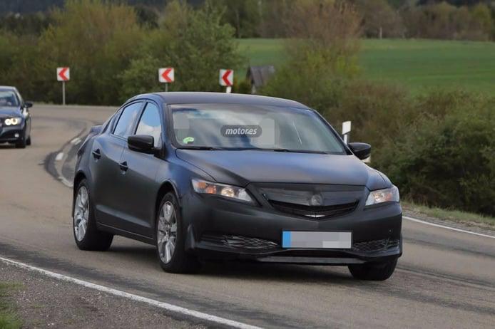 El Honda Civic Sedan 2017 descubierto en Europa