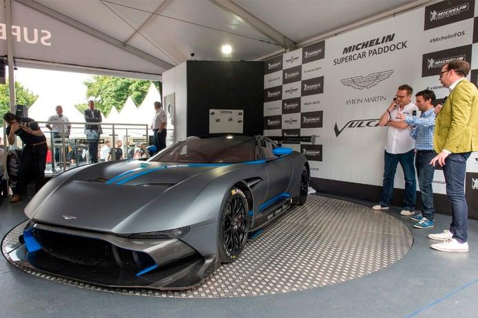 Aston Martin Vulcan en Goodwood 2015, puro espectáculo