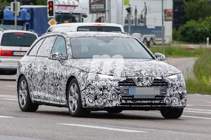 Audi A4 Avant 2016, la versión familiar se desprende de camuflaje