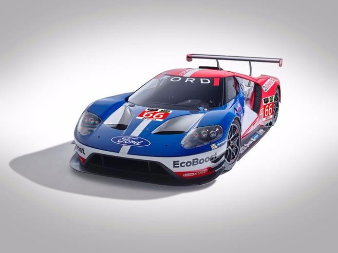 Ford vuelve a las 24 Horas de Le Mans en 2016 con su nuevo Ford GT