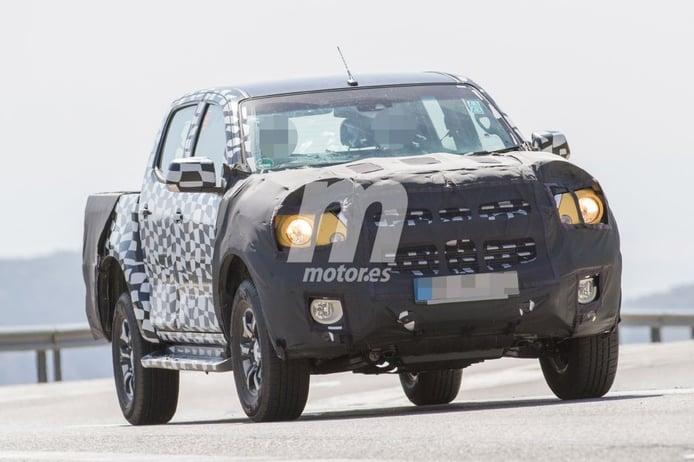 Chevrolet Colorado 2016 / Isuzu D-Max 2016 de pruebas en Europa