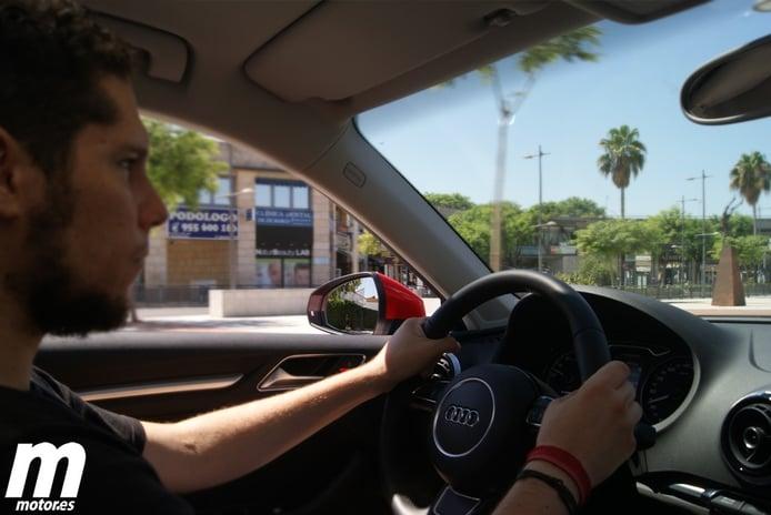 Recorridos urbanos con el Audi A3 e-tron