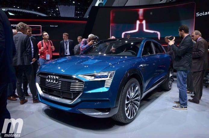 Audi e-tron Quattro Concept: 503 CV de deportividad eléctrica en un SUV