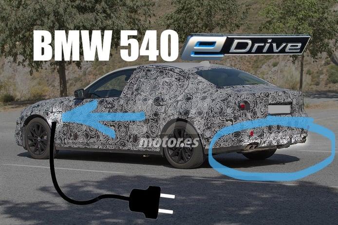 BMW 540e, así será el segundo híbrido del futuro Serie 5