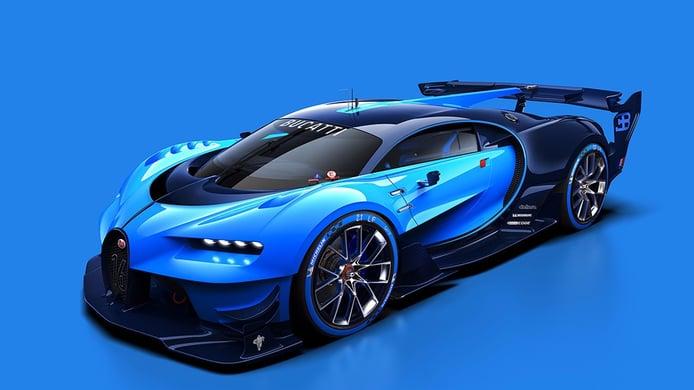 Bugatti Vision Gran Turismo, a escala real y en Frankfurt