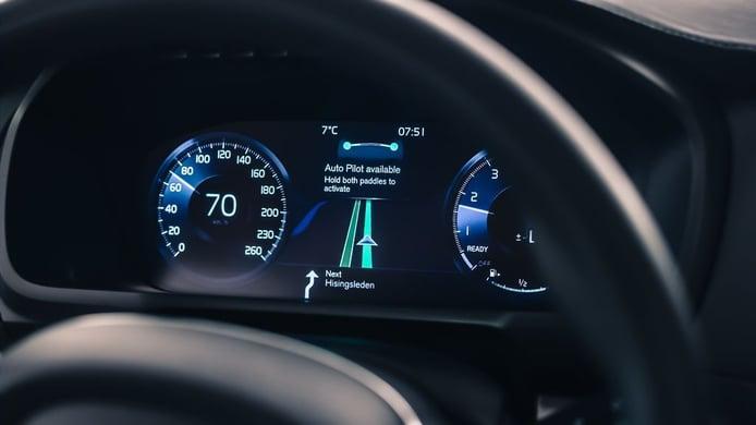 Así es el nuevo interfaz de Volvo para dejar de conducir