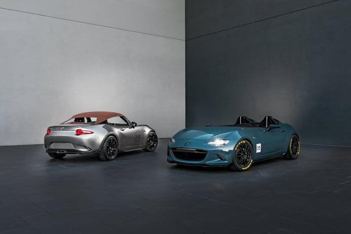 """Mazda MX-5 Spyder y MX-5 Speedster, mucha clase y deportividad """"retro"""""""