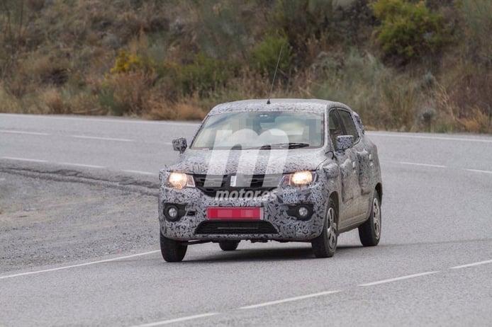 Exclusiva: El Renault Kwid, cazado en España