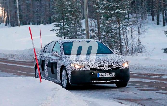 El Opel Insignia 2017 inicia su desarrollo en las pruebas invernales
