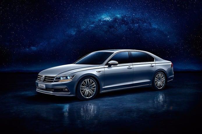 Volkswagen Phideon, el nuevo buque insignia de VW para China