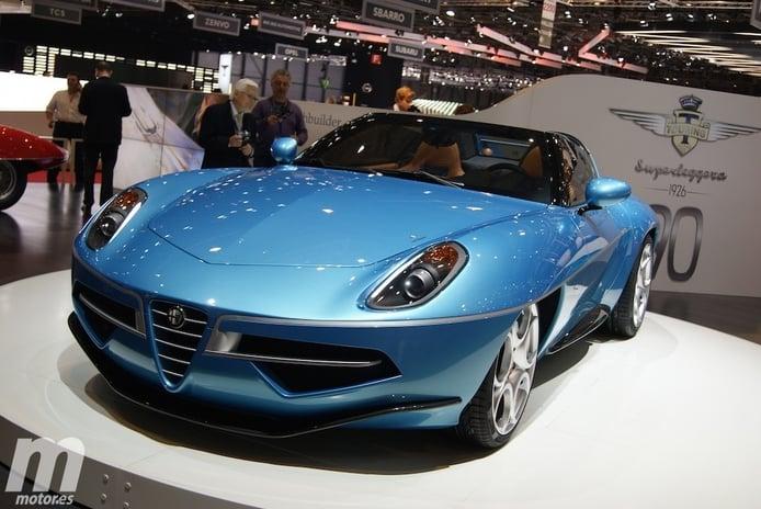 Alfa Romeo Disco Volante Spyder, elegancia y clasicismo a raudales