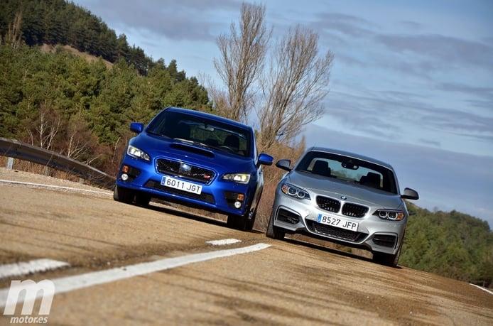 Comparativa: BMW M235i xDrive vs Subaru WRX STi: ¿Quién es quién?