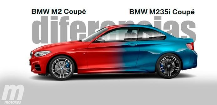 ¿Cuales son las diferencias entre el BMW M2 y M235i?