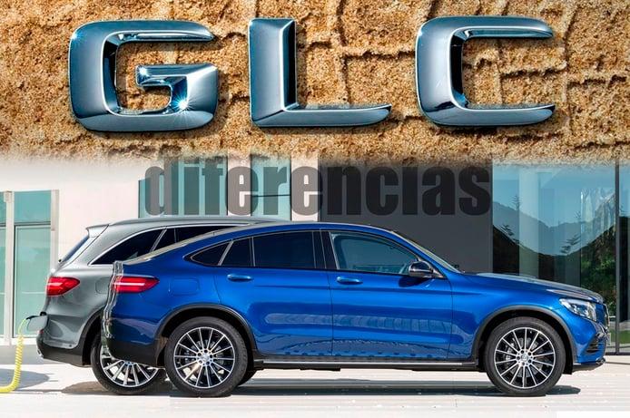 Mercedes Clase GLC vs GLC Coupé, descubre todas las diferencias