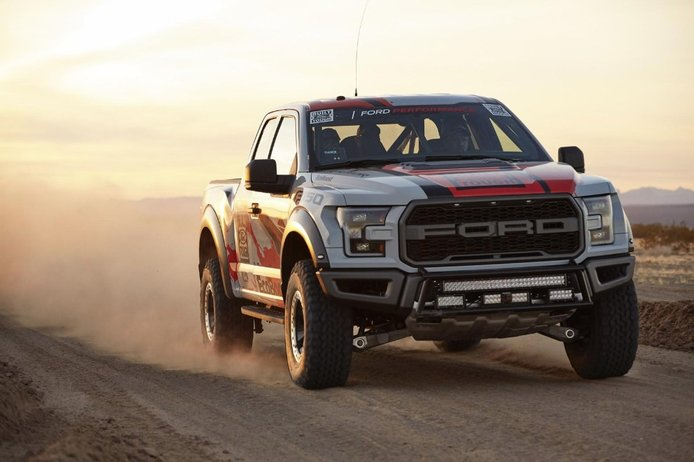 Ford F-150 Raptor Race Truck, lista para competir