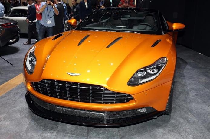 Aston Martin DB11, un vistazo en vídeo desde Ginebra 2016