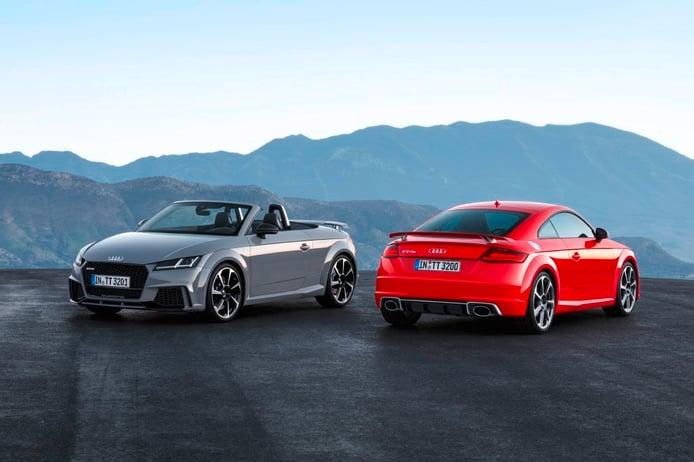 Audi TT RS 2016, llega el más potente de la historia