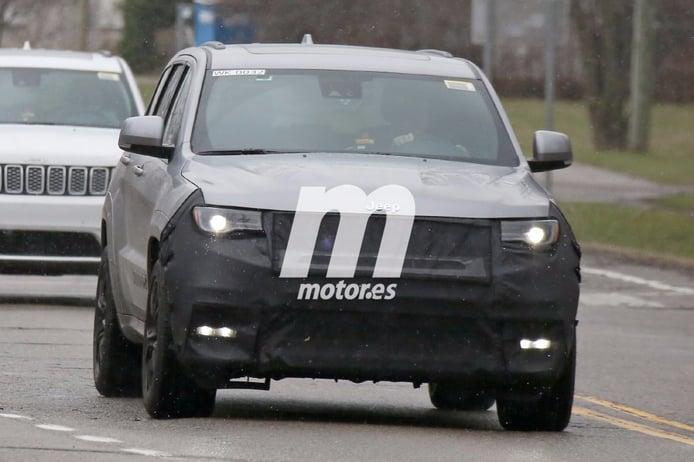 El nuevo Jeep Grand Cherokee Trackhawk 2018 se deja ver por Michigan