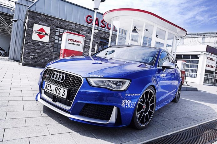 El Audi RS3 de Oettinger es tan rápido como un R8... ¡Y promete que alcanzará los 750 CV!