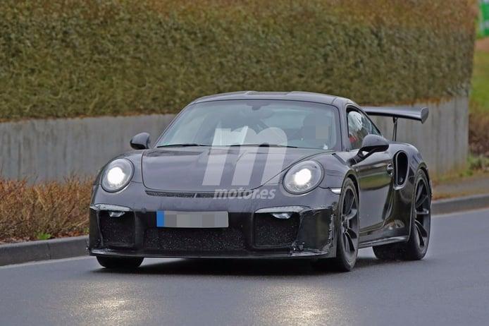 Primeras fotos espía del Porsche 911 GT3 RS