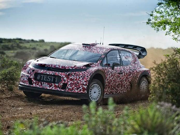 Primeras imágenes oficiales del Citroën C3 WRC 2017