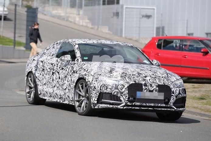Audi RS5 2017, primeras imágenes de la mula de pruebas