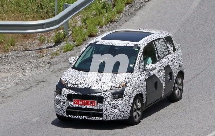 El Citroën C3 Picasso 2017 sigue perdiendo camuflaje