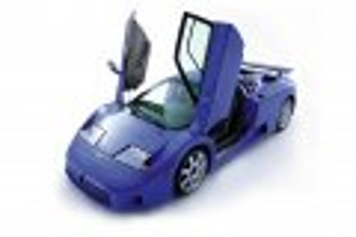 La historia no contada de Bugatti Automobili y el EB110