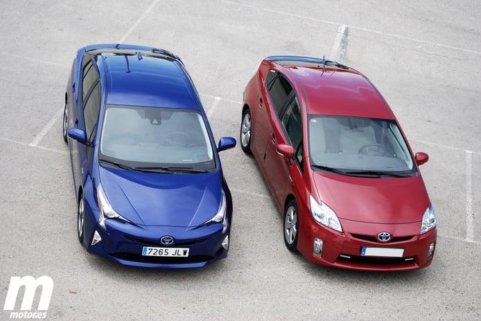 Toyota Prius 4g contra Toyota Prius 3g, conducción y dinámica (II)