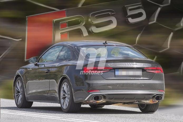 Audi RS5 2017: cazamos en exclusiva a la variante más radical de la gama