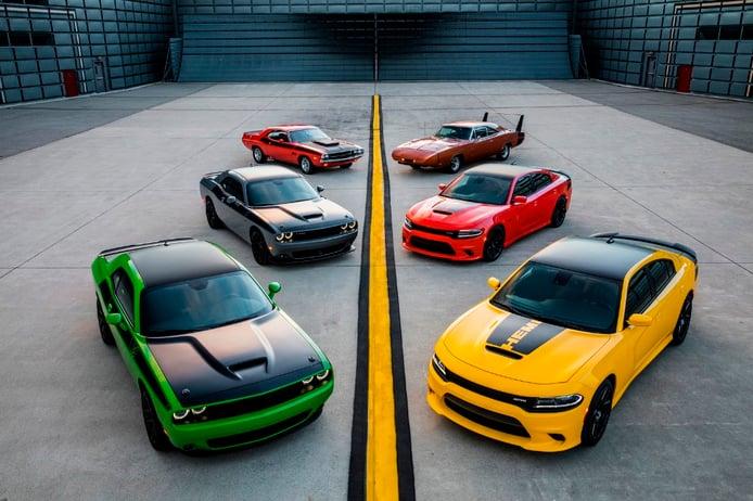 Dodge Charger Daytona y Dodge Challenger T/A 2017, gloriosa vuelta al pasado