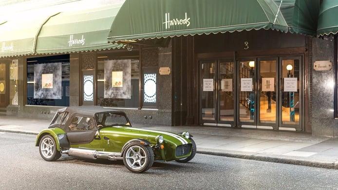 Caterham Seven Harrods Edition: así nace un programa de personalización