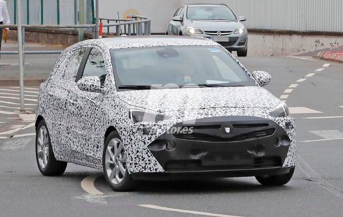 Opel Corsa F, sus primeras imágenes