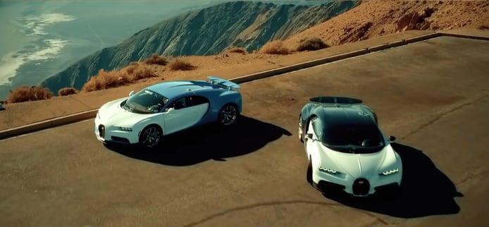 Bugatti revela nuevo y espectacular vídeo de las pruebas del Chiron