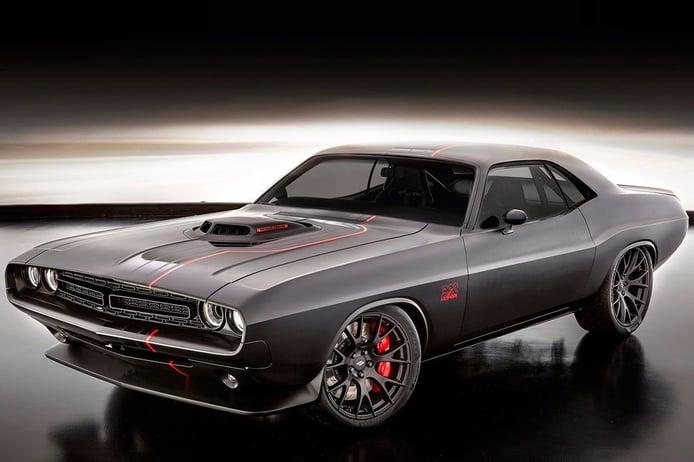 Dodge Shakedown Challenger Concept, un Frankenstein que aterriza en el SEMA